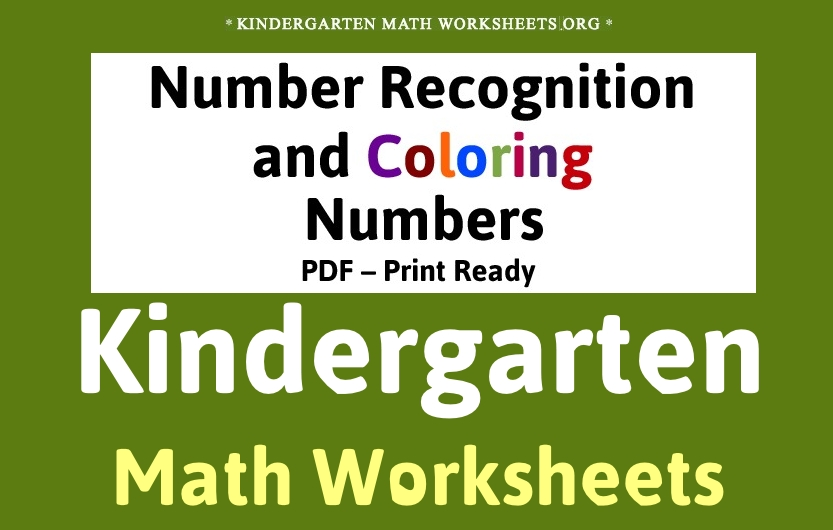 Kindergarten Math Worksheets for Kids. Download Free Math Activities ...